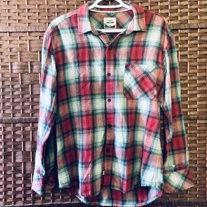TNA Boyfriend Plaid Shirt